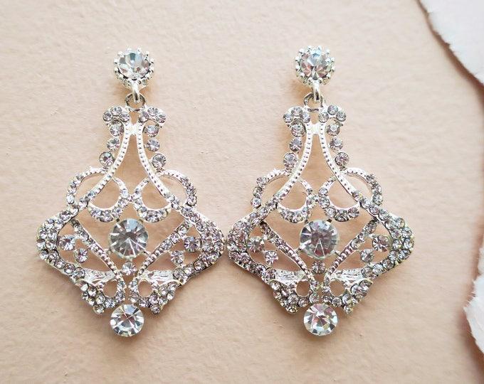 Crystal Bridal Earrings