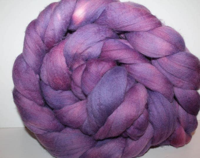 Kettle Dyed Merino Wool Top. Super fine. 19 micron  Soft and easy to spin. Huge 1lb Braid. Spin. Felt. Roving.  M320