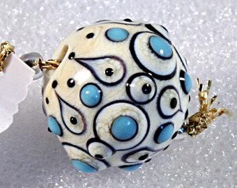 Lampwork  Art Jewelry by Jeanniesbeads #1302