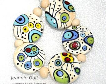 Lampwork  Art Jewelry by Jeanniesbeads #2076