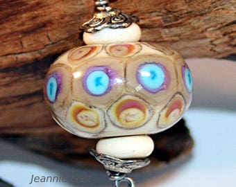 Lampwork  Art Beads by Jeanniesbeads 3083