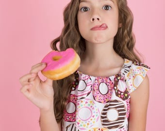 Baby Donut Top - Baby Top - Baby Birthday Top - Toddler Donut Shirt - Toddler Donut Top - Toddler Party Top - Baby Birthday Shirt - Baby