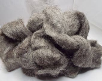 Grey Gotland, Louet fibers, 225 grams, Fiber, no longer available, spinning fiber, spindle spinning, spinning, roving, top, Threadsthrutime