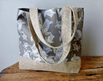 Turtle Tote - Medium - Two Pockets