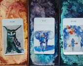 Deep energy tarot reading