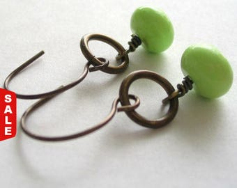 Green apples and Brass