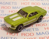 1968 Ford Mustang GT/CS (California Special) : Hot Rod, Man Cave, Refrigerator, Tool Box, Stocking Stuffer, Muscle Car, Magnet