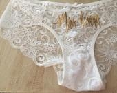 Custom Sexy Panties Intimate wear,  lace underwear, lingerie  ~~~ Mrs. Bridal Underwear