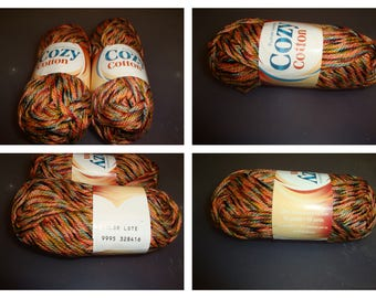 Cozy Cotton/Brown Blend/Stash Busting
