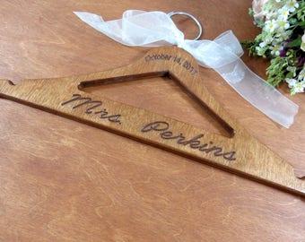 Wooden Hangers Handmade - Handmade Hangers - Custom Hanger - Engagement Gift - Coat Hangers - Gift for Her - Unique Hangers - Gift Idea