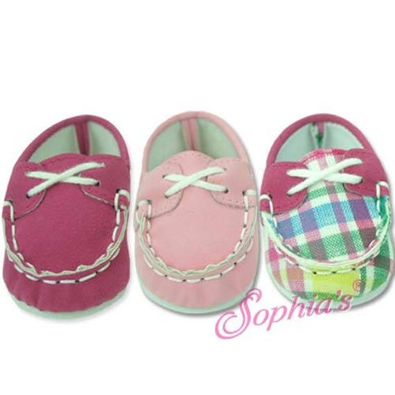 Boat Shoes - 18 Inch Doll Shoes