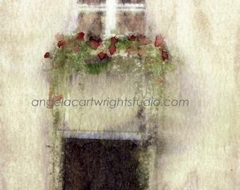 Flower Box - print