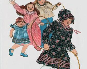 Vintage 1970s Betsey Johnson Dress, Top and Bonnet Sewing Pattern Butterick 5278 Size 6X UNCUT
