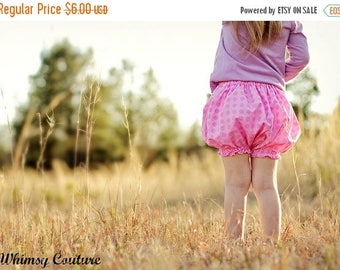 SALE Bubble Bloomers Pattern Diaper Cover Tutorial perfect for embroidery sizes are newborn through 5t