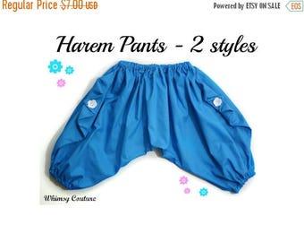 SALE Harem Pants Pattern Tutorial 3 months through 5t