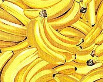 CUSTOM Reusable Cloth Menstrual Pad  - You Pick Backing - Bananas