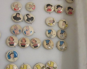 kellogg pep pin back buttons lot 3