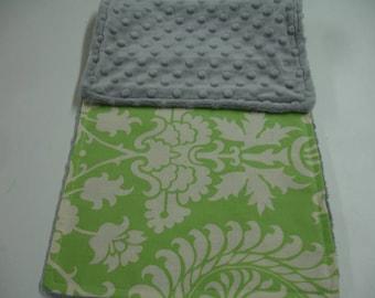 Bali Gates Minky Burp Cloth 8 x 19 READY TO SHIP