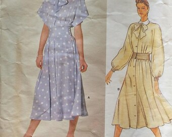 Vogue American Designer Dress Pattern Albert Nipon 1375