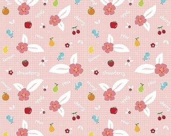 20EXTRA EXTRA20 20% OFF Riley Blake Designs Sweet Orchard Fruit Pink