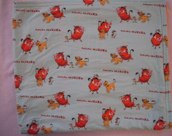 Lion King Baby/Toddler Nap Blanket