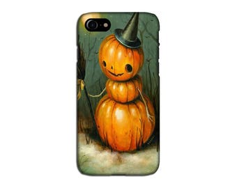 Halloween Pumpkin iPhone 7 Case, iPhone 6 Case, iPhone Cases, iPhone Plus Case, Galaxy S7 Case, Galaxy S7 Edge Case, Galaxy S6 Case