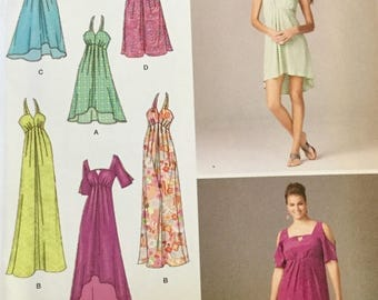 Simplicity 1659 Ladies Dress with Length Variations, size 10-18, Uncut Easy