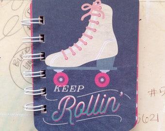 Keep Rollin - Mini Jotter Notebook