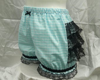 Diamond harlequin Micro mini bloomers adult women