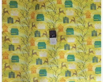 CLEARANCE SALE Anna Maria Horner VAH03 Little Folks Voile Forest Hills Citrus Cotton Fabric 1 Yd