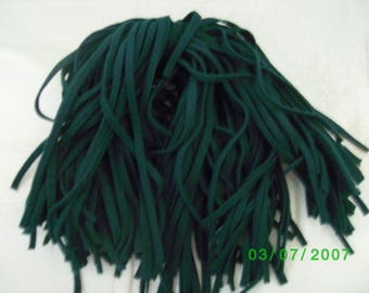 135  Mill Dyed Wool Rug Hooking Strips Primitive Green