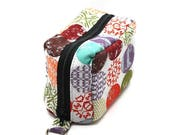 Summer Clearance Essential Oil Case Holds 6 Bottles Essential Oil Bag Colorful Mod Dots