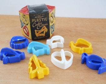 Vintage Hutzler Cookie Cutters • Vintage Plastic Cookie Cutters