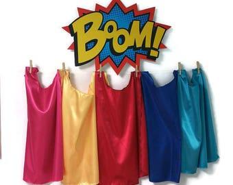 Superhero Capes Bulk - Bulk Superhero capes - Superhero Party - Super Hero Party Favors - Superhero Capes for Kids - Bulk Capes - Kids Capes