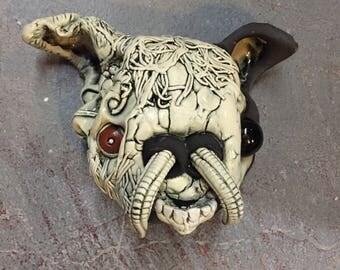 Ceramic Head, clown, monster