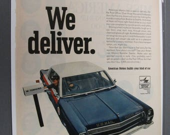 A.M. 109  American Motors  Magazine Ad -  Auguast 1967