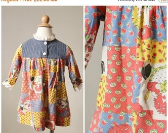 ON SALE 1960s Raggedy Ann Dress >>> Size 24 Months