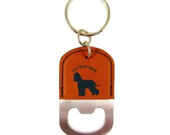 Irish Water Spaniel Standing Bottle Opener Keychain K3398 - Free Shipping