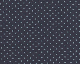 Art Gallery Amy Sinibaldi Les Petits Dots in Midnight - Half Yard
