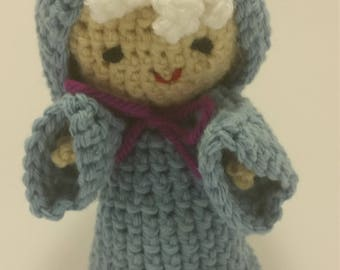 Crocheted Fairy Godmother