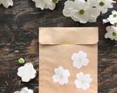 Dogwood Flower Rubber Stamp Set