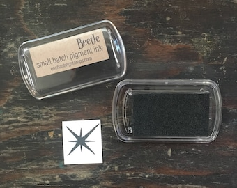 Beetle Black Pigment Ink Pad small batch