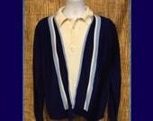 Vintage 1960s banlon style knit sweater