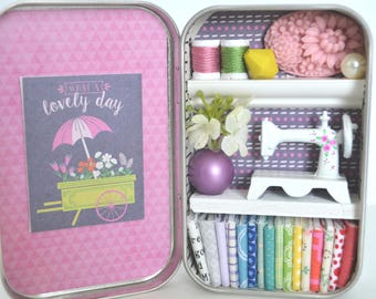Tiny Tin Sewing Room ~ What a Beautiful Day