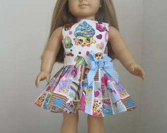 20% off Eclipse Sale SHOPKINS Doll Clothes- Made to Fit AMERICAN GIRL Doll- Shopkins Cupcake Queen Dress Made for American Girl Dolls
