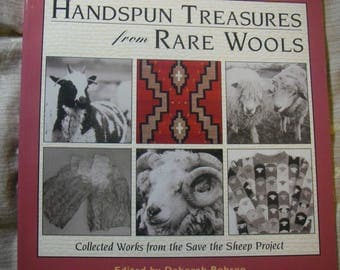 DE-STASH Knitting Book: Handspun Treasures from Rare Wools--Collected Works from the Save the Sheep Project