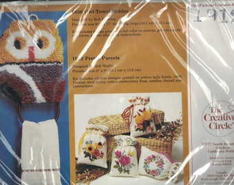 The Creative Circle Pretty Parcels Embroidery Kit 1912 #CS027