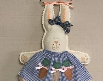 Hanging Bunny, stuffed bunny, Easter bunny