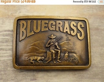 Bluegrass Music Belt Buckle Hillbilly Whiskey Jug Dog Violin Fiddle Mountain