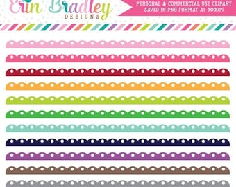 50% OFF SALE Fancy Scalloped Borders Clipart Clip Art Personal & Commercial Use Digital Graphics